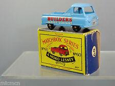 MATCHBOX MOKO LESNEY MODEL No.60a MORRIS J2 PICK-UP   'WHITE DECALS'    N MIB