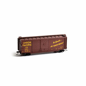 ATHEARN-HO-SCALE-WAGONS-UNION-PACIFIC-40-039-DOUBLE-DOOR-EXPRESS-CAR-ATH14747