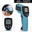Infrared-Laser-Thermometer-Temperature-Gun-Digital-LCD-Heat-Measure-Reader-GM550 miniature 2