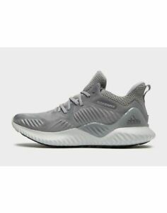 Adidas-Alpha-Bounce-Beyond-Men-039-s-Trainers-UK-12-EUR-45-5-US-12-5-Grey-Brand-New