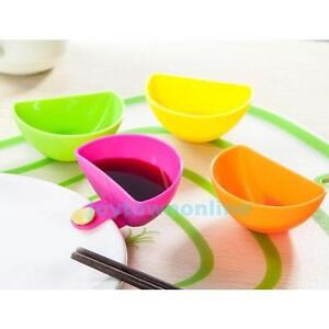 4PCS-Assorted-Salad-Sauce-Ketchup-Jam-Dip-Clip-Cup-Bowl-Saucer-Tableware-Kitchen