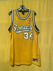SIGNED Ray Allen #34 Seattle Sonics Jersey EXTREMELY RARE | eBay