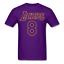 KOBE-BRYANT-T-SHIRT-Tee-Black-Mamba-Los-Angeles-Lakers-8-24-T-Shirt-Size-S-4XL thumbnail 20