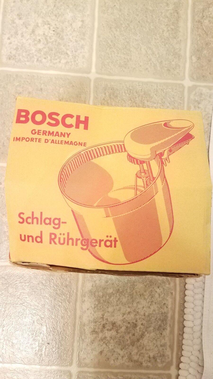 Bosch schlag und und und ruhrgerat Mixing Bowl. Germany. HMZU 5L 2Z ac9e37