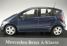 SCHUCO - Mercedes-Benz A-Klasse - W 169 - blau metallic - 1:43 - Modellauto