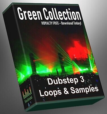 Dubstep Green Collection Part 3 WAV Loops Cubase Reason