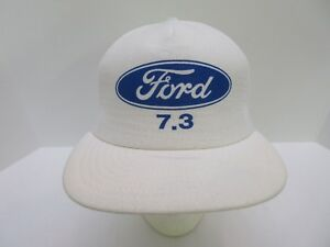 NEW Vintage FORD Trucks Cars SnapBack Mesh Trucker Hat Cap White ... 43bb3277724d