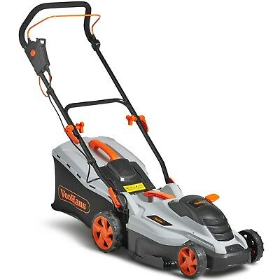 Best deals on ebay shop electronics home beauty fashion toys vonhaus 1600w lawnmower 36cm cutting width adjustable cutting height reheart Gallery