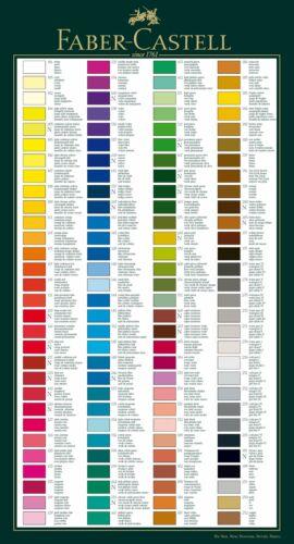 Teil2 Polychromos in vielen Farben zum selber wählen Stempelmotiv ausmalen uvm