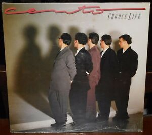 LP CENTO Choose life (Cgd 88)Italian new wave synth pop rock Ruggeri RARE SEALED
