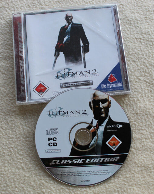 Hitman 2 - Silent Assassin (PC-CD-ROM, 2002, Jewelcase) USK 18