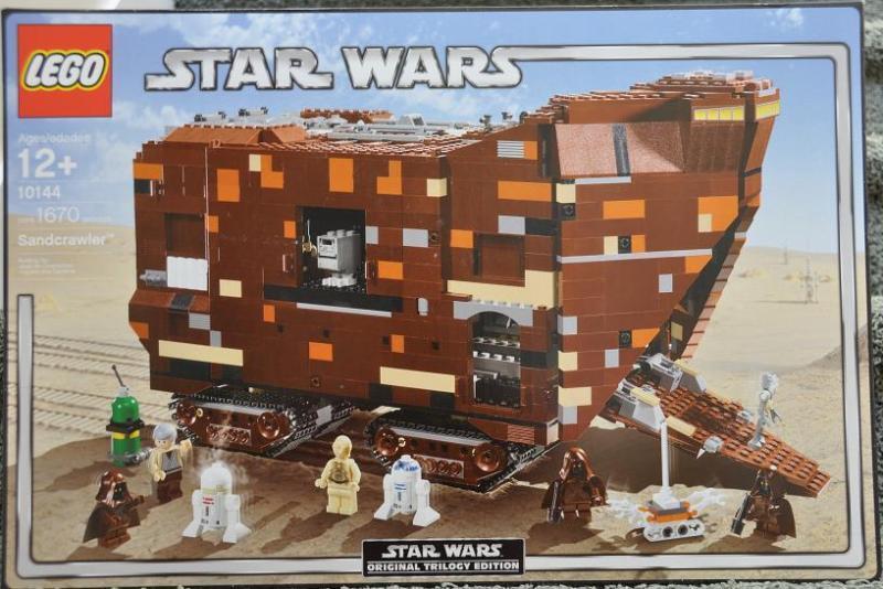 Lego 10144 Star Wars Sandcrawler New New New Excellent Box NISB 0e05df