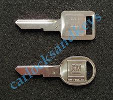 1991-1994 Chevrolet S10 Pickup Truck Key blanks blank