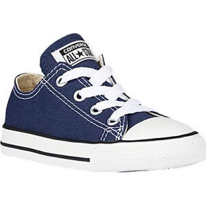 3df01a895c56d9 Image is loading Converse-Kids-Chuck-Taylor-All-Star-Navy-Low-