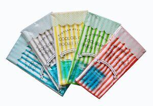 5 Packs De Bouteille D'eau Housse/multi-purpose Poche Pochette Serviette Avec Glace Gel タオル-afficher Le Titre D'origine