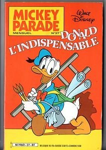 MICKEY-PARADE-n-37-EO-1983-DONALD-L-039-INDISPENSABLE