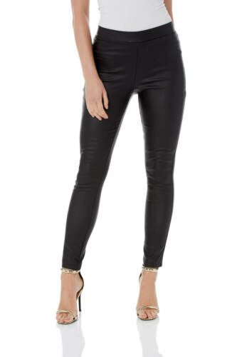 pelle di On lunghezza Pull in Pantaloni Faux Roman nera Originals normale Donna qTwa846