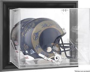 Los-Angeles-Rams-Black-Framed-Wall-Helmet-Display-Fanatics