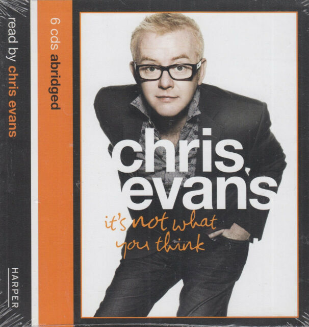 Chris Evans It's Not What You Think 6CD Audio Book NEW Autobiography FASTPOST