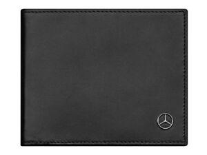 origi-Mercedes-Benz-Brieftasche-Geld-boerse-Portemonnaie-Leder-RFID-Scan-Schutz