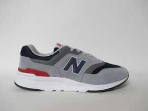 online store 3363c e6446 Details about New Balance 997 Grey Navy Blue Red White Sz 10.5 CM997HCJ