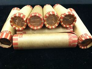 2012  UNCIRCULATED  LINCOLN CENT  ROLL  SEALED BANK  WRAPPED