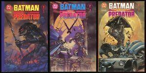 Predator-versus-Batman-Deluxe-Trade-Paperback-TPB-set-1-2-3-Lot-vs-Suydam-art