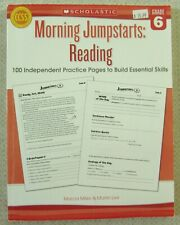 Morning Jumpstarts: Morning Jumpstarts: Reading (Grade 6) : 100 Independent Practice Pages to Build Essential Skills by Marcia Miller and Martin Lee (2013, Paperback)