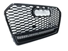 RS6 Grill schwarz Audi A6 S6 4G C7 Facelift 2014-2016 RS Wabengrill Frontgrill