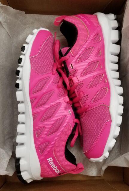 Reebok Women s Realflex Train 4.0 Rose Pink White Black Training Shoe 6  Women 8945e2f43