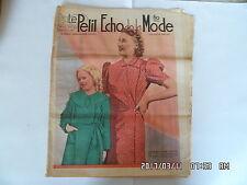 LE PETIT ECHO DE LA MODE N°3 15/01/1939      K39