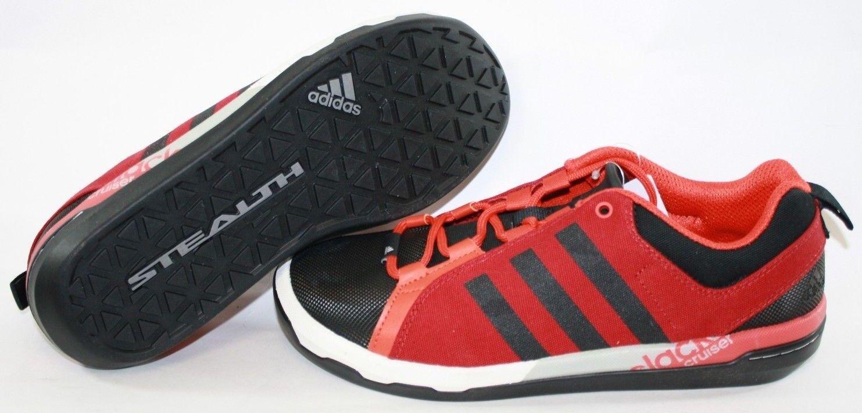NEW Slack Mens Sz 9 ADIDAS Slack NEW Cruiser B35126 Red Outdoor Trail Sneakers Shoes e8e1c4