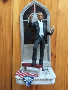 The Father Joseph Seed Figurine In Stained Glass Statue Far Cry 5
