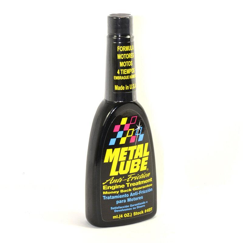 METAL LUBE Aditivo Fórmula para Motores en Motos de 4 Tiempos, Envase 60 ML.