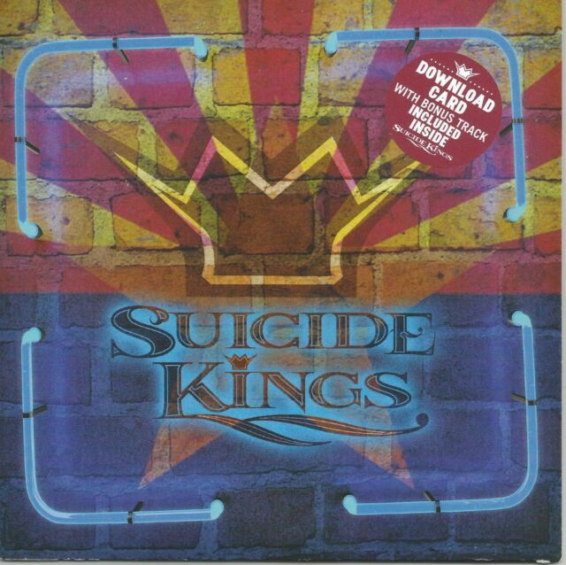 New SUICIDE KINGS 4 song EP + download card Bruce Connole Jon Rauhouse Hazlewood