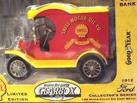 1912 Ford Shell Gearbox Collector's Series Limited Edition Coin Bank 1:24 Scale