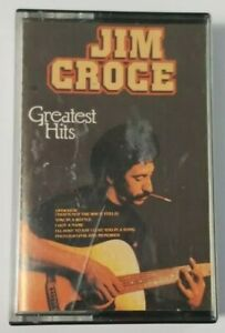 Jim Croce Greatest Hits Cassette Tape 1981 Edigsa