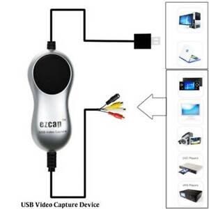 USB-2-0-Video-Capture-V8-Hi8-DVD-VHS-DVR-Adapter-Recorder-Converter-to-Digital