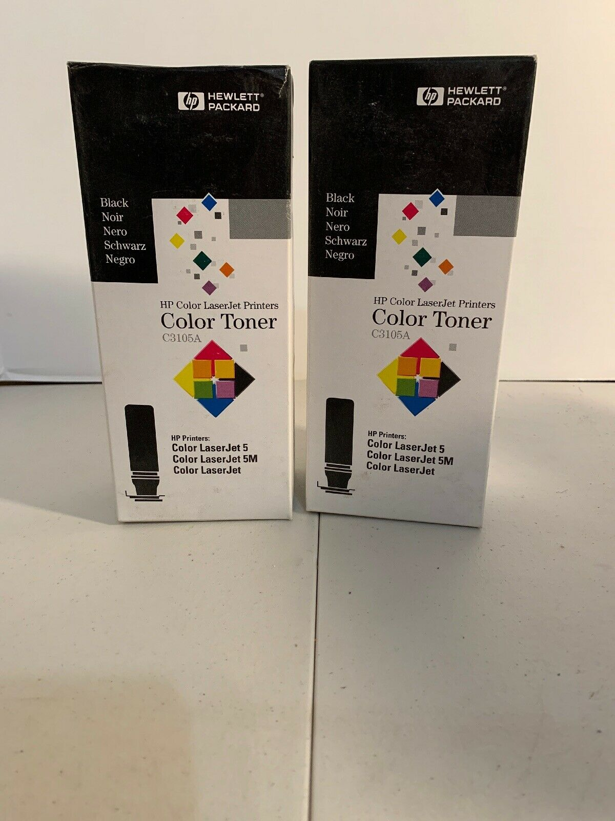 Genuine HP C3105A Black Toner Cartridge LaserJet 5 5M NEW Sealed in Box