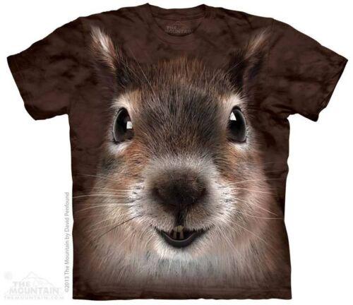 The Mountain Eichhörnchen Gesicht Süß Nett Tier Groß Auge Nase Cool T T-Shirt