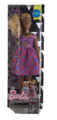 Barbie Fashionistas Curvy Barbie #50 mild package damage