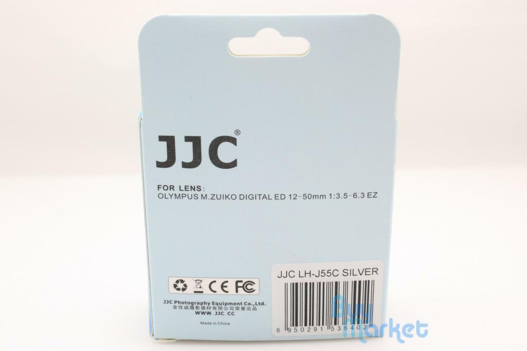 JJC LH-J55C Parasol para Olympus M.Zuiko Digital ED 12-50mm 1:3.5-6.3 EZ