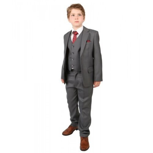 Jungen Italienisch Regular Fit 6 Teilig Hochzeit Kinder Anzug 1-14 Jahre Kleidung & Accessoires