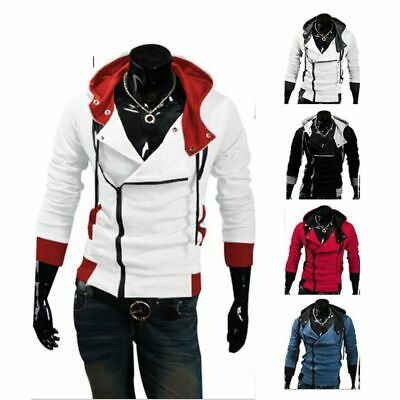 Assassin S Creed Sweatshirt Hoodie Jacket Slim Side Zipper