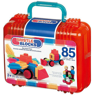 Bristle Blocks 50 Teile im Koffer transparent