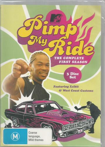 1 of 1 - PIMP MY RIDE - THE COMPLETE FIRST SEASON DVD