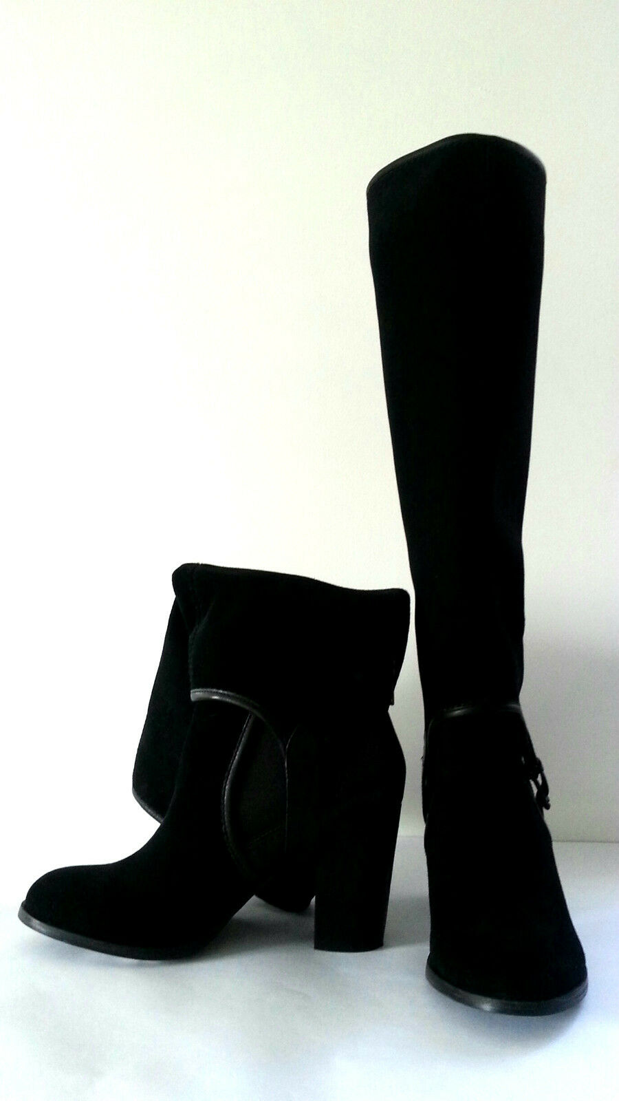JOHN LEWIS VERANO - BOOTS BLACK 2 IN 1 BOOTS - - SIZE 6  BB260 7bc561