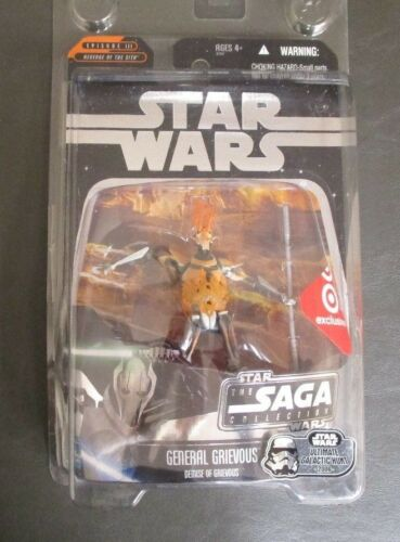 General Grievous Demise of STAR WARS Saga Collection TARGET Exclusive MOC