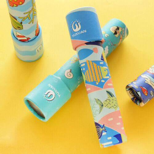 Kids kaleidoscope educational toys creative rotating sensory toys children gift