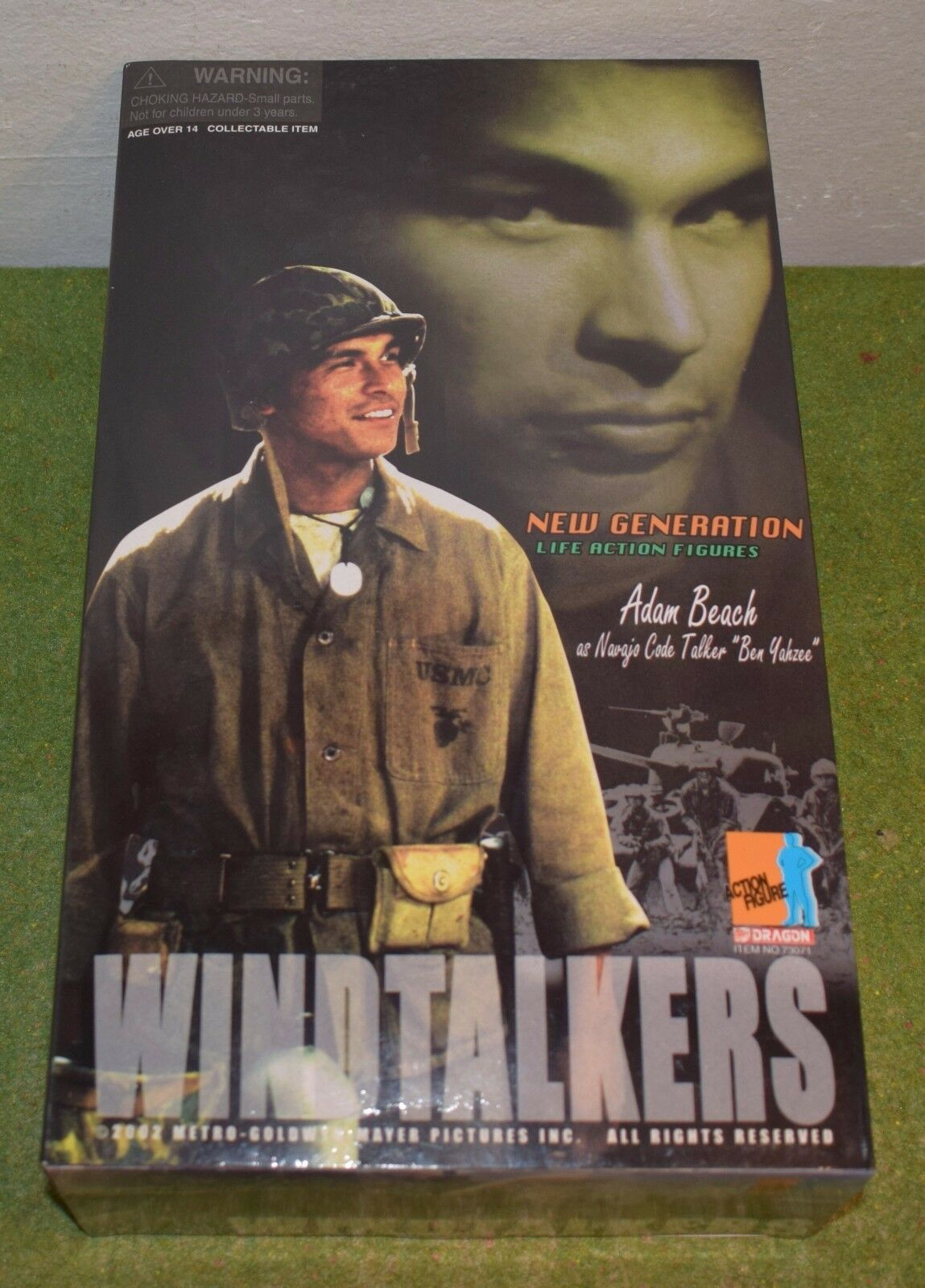 DRAGON 1 6 SCALE WW II US WINDTALKERS ADAM BEACH as CODE TALKER BEN YAHZEE